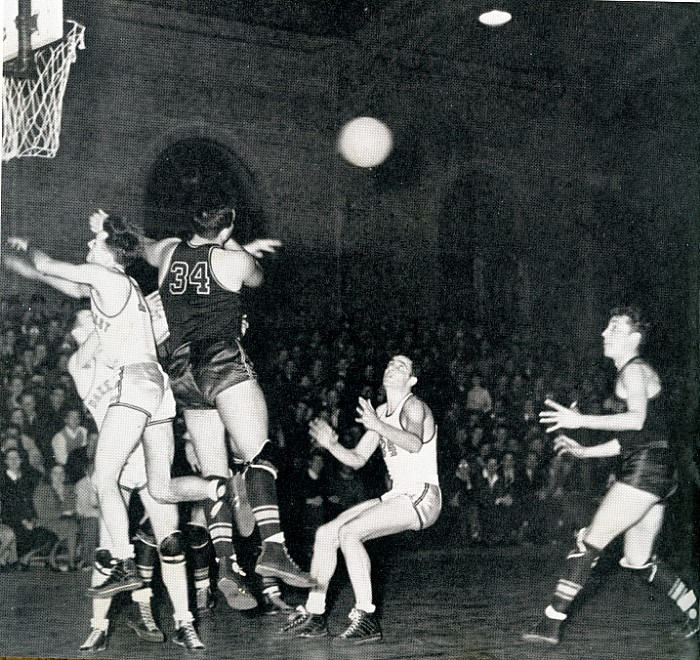 Ledford Center - WF Basketball