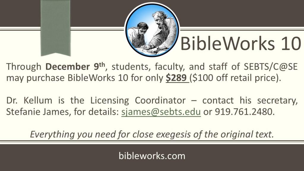 BibleWorks 10 2015 pres1 - CORRECT