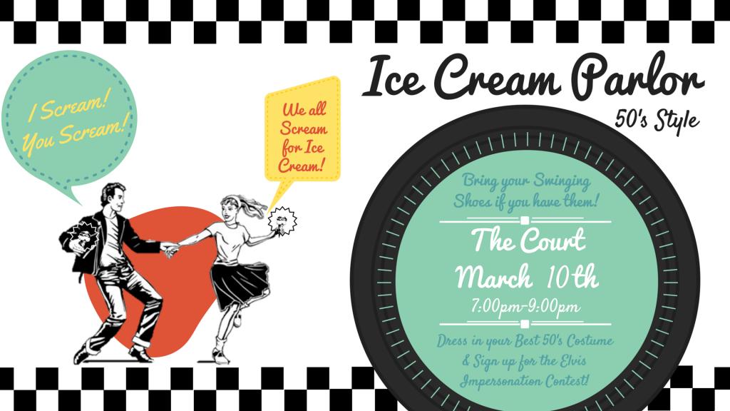 Ice Cream Parlor- 50's Style Chapel Slide