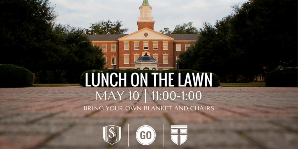 Lunch on the Lawn Banner