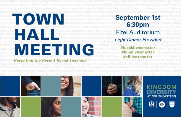 Kingdom Diversity Town Hall Meeting