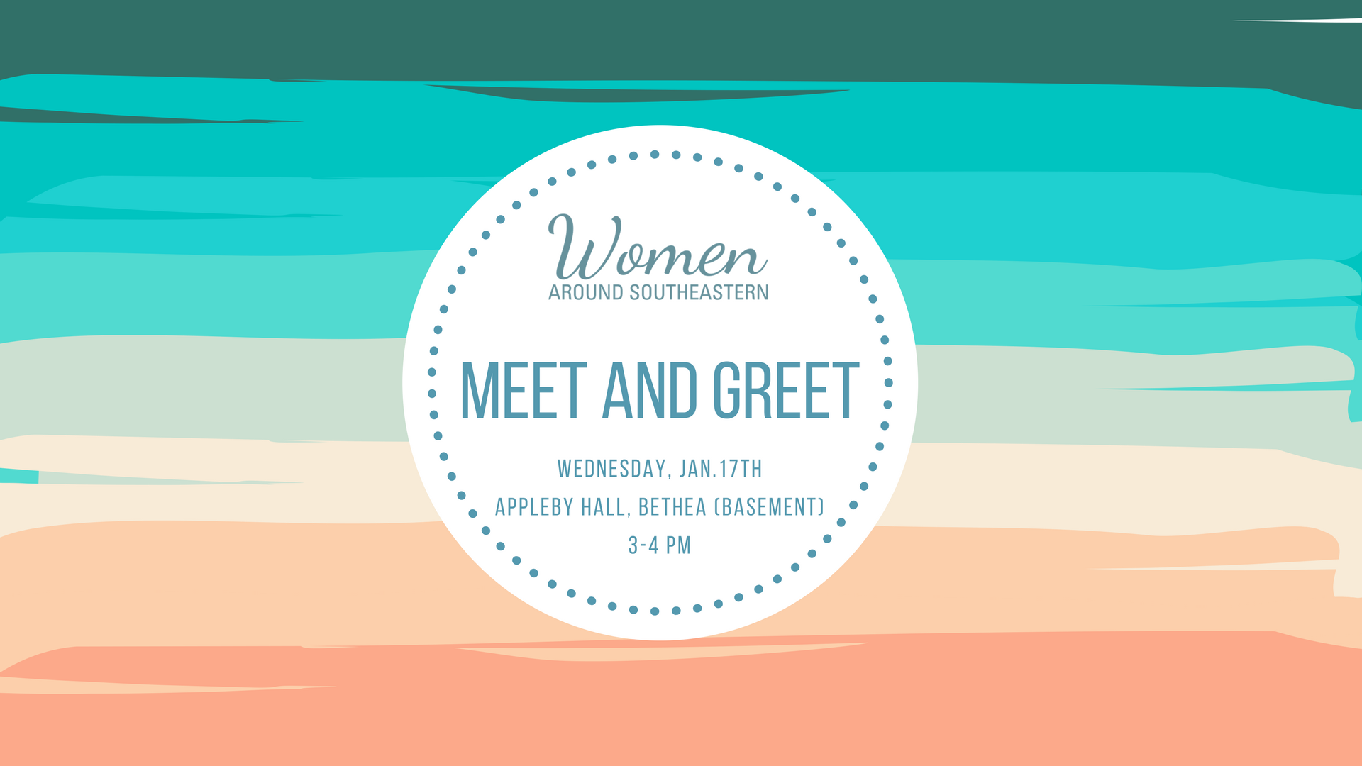 Womens meet and greet january 17 around southeastern womens meet and greet january 17 kristyandbryce Gallery